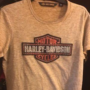 Beaded Harley Shirt
